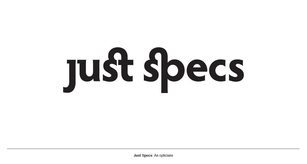 just specs