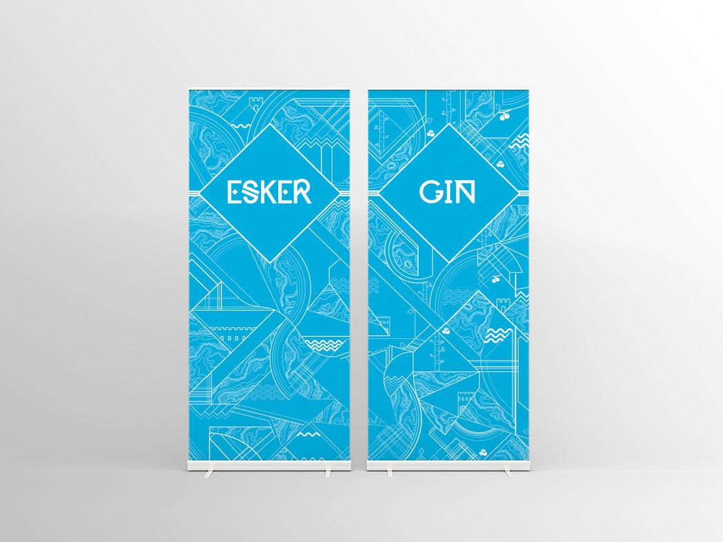 Esker-Gin-banner